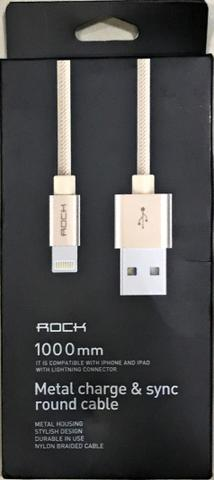 Cabos Lightning para iPhone 5, iPhone 6, iPhone 7, iPhone 8 e iPhone X