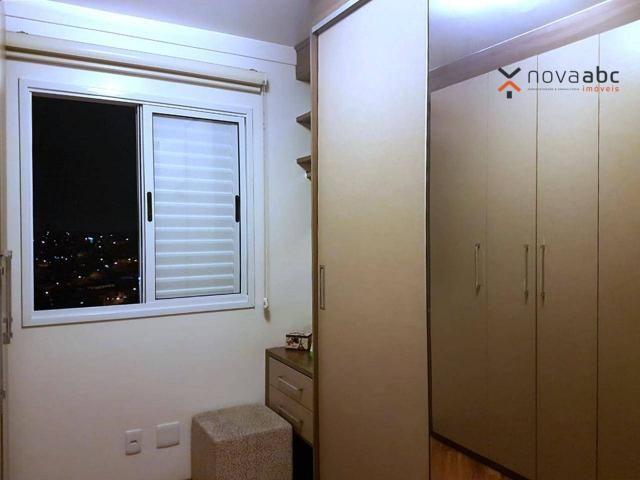Apartamento com 2 dormitórios para alugar, 50 m² por R$ 1.350/mês - Parque Erasmo Assunção - Foto 14