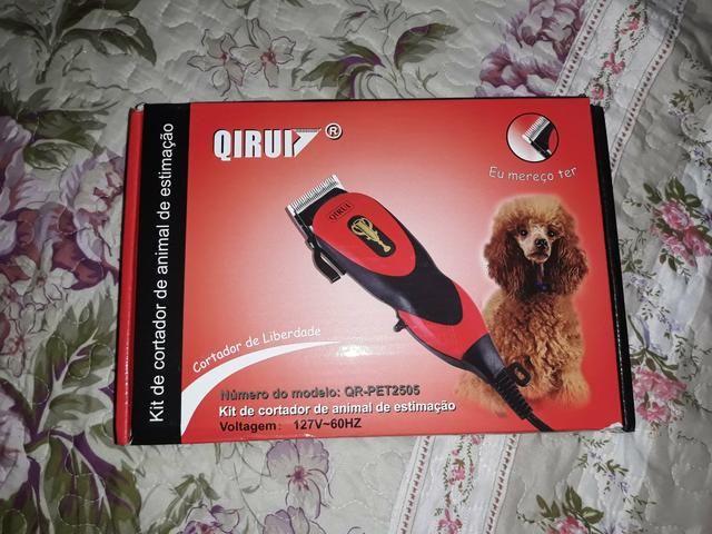 Maquinha de cortar pelo de cachorro - Foto 2