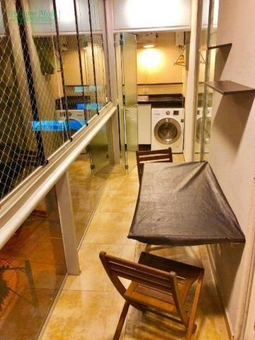 Studio com 1 dormitório para alugar, 36 m² por r$ 1.950/mês - vila augusta - guarulhos/sp - Foto 19