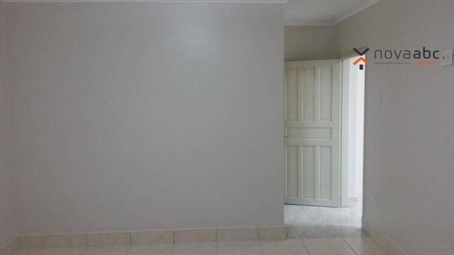 Apartamento com 1 dormitório para alugar, 58 m² por R$ 1.300/mês - Vila Floresta - Santo A - Foto 7