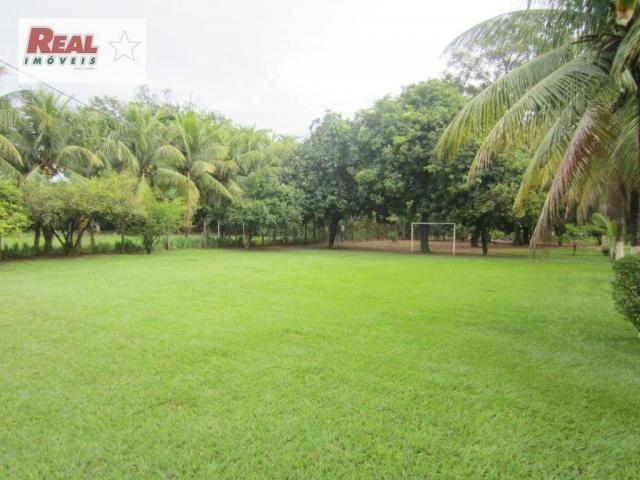 Chácara residencial à venda, chácaras moema, araçatuba.