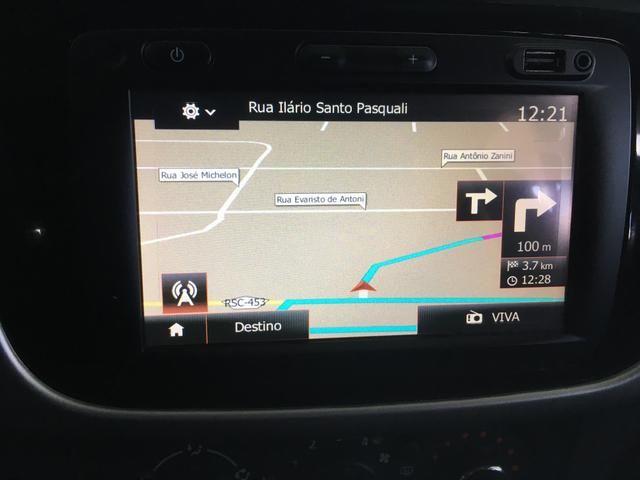 Sandero 1.6 Expression top Mídia Nave Air Bag e abs sensor de estacionamento único dono - Foto 5