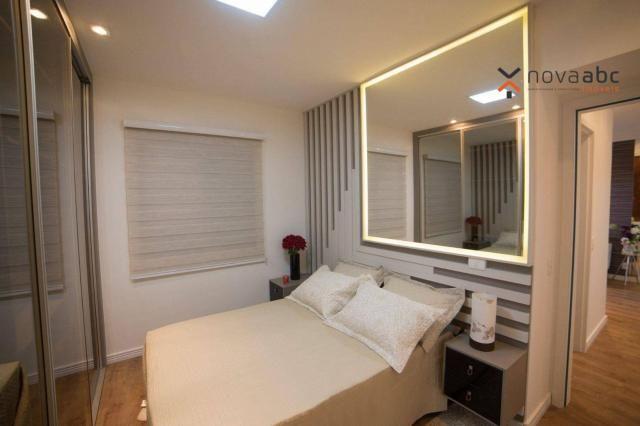 Apartamento com 2 dormitórios e varanda gourmet para alugar, 70 m² em condomínio completo  - Foto 8