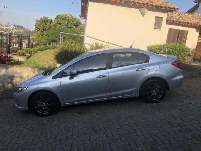 Honda CIvic 2012- Modelo EXS mais Completo com Teto Solar e Banco de Couro - Foto 16