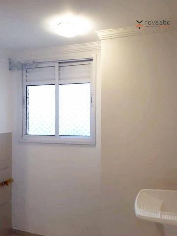 Apartamento com 2 dormitórios para alugar, 46 m² por R$ 900/mês - Vila João Ramalho - Sant - Foto 16