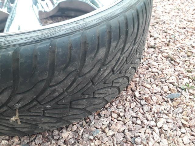 Rodas 22 pneus novos R$2.500 - Foto 4