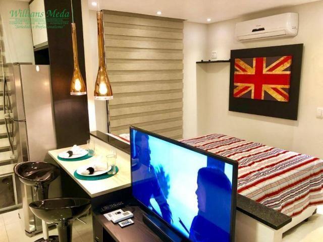 Studio com 1 dormitório para alugar, 36 m² por r$ 1.950/mês - vila augusta - guarulhos/sp - Foto 6
