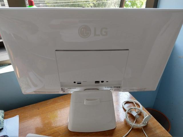 PC Computador All In One LG 24V360 - Quad Core, 4gbs mem, 500Gbs Hd - Tela Full Hd 24 pols - Foto 3