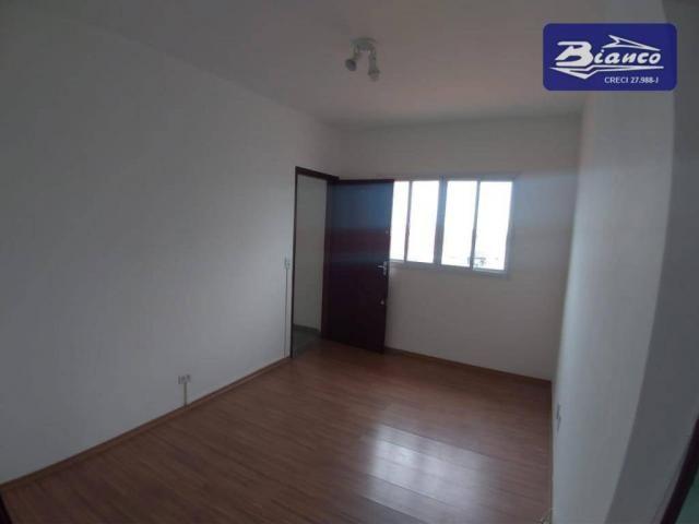 Apartamento com 2 dormitórios para alugar, 65 m² por r$ 1.100/mês - jardim santa mena - gu - Foto 3