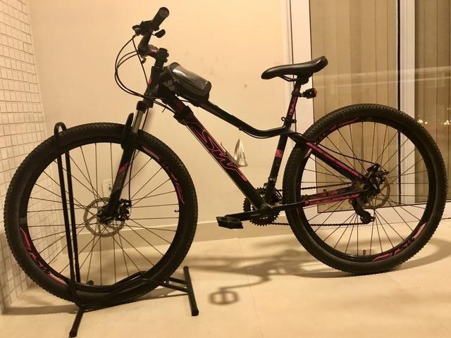 Bike TSW Posh Shimano tourin tamanho 15 aro 29. Freios mecânicos a disco. Semi Nova - Foto 2
