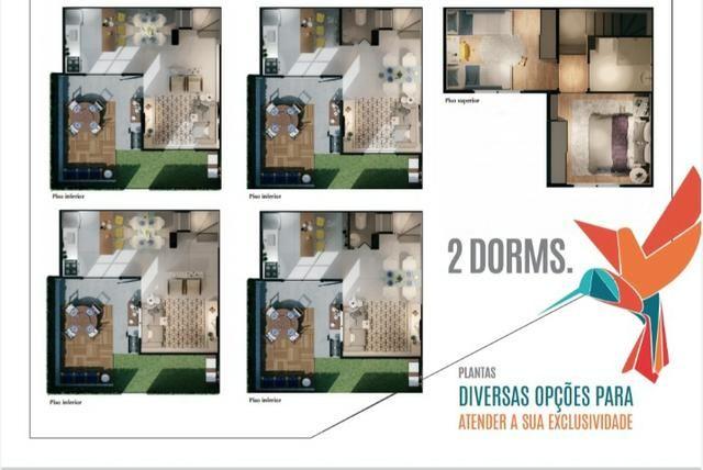 Sobrados de 2 e 3 Dormitórios com Quintais de Vários Tamanhos - Foto 9