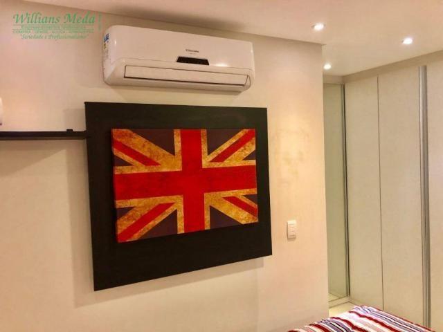Studio com 1 dormitório para alugar, 36 m² por r$ 1.950/mês - vila augusta - guarulhos/sp - Foto 10