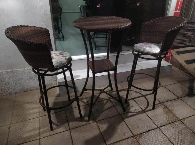 Lindas banquetas com bistrô só hoje R$199 - Foto 2