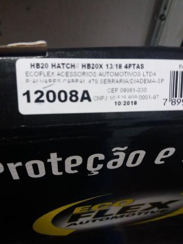 Calha de chuva hb20 hatch hb20 x 13/18 4 portas nova na embalagem