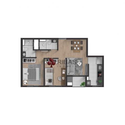 Apartamento à venda com 2 dormitórios em Boa vista, Curitiba cod:15427 - Foto 13