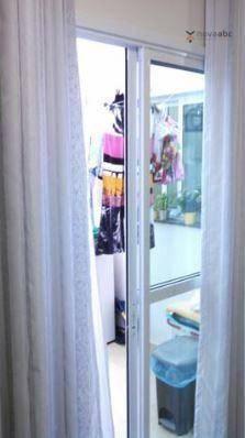 Apartamento com 2 dormitórios para alugar, 40 m² por R$ 1200/mês - Vila Floresta - Santo A - Foto 15