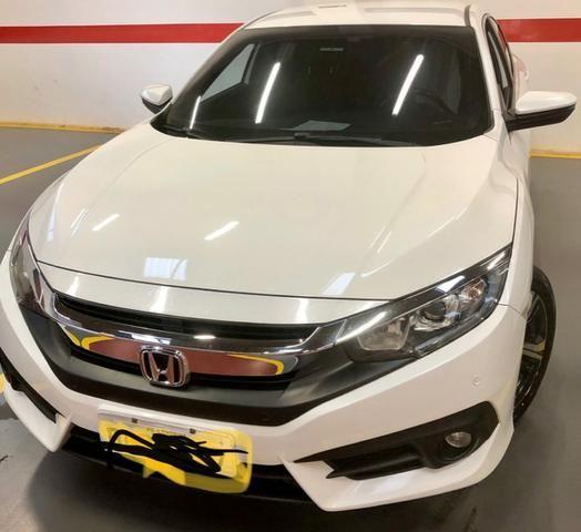 Honda civic EXL mpecável branco estelar