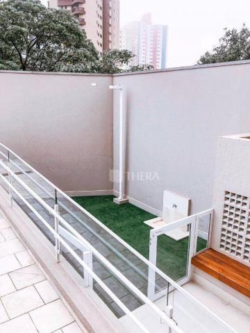 Apartamento com 2 dormitórios para alugar, 71 m² por r$ 2.200/mês - vila assunção - santo  - Foto 14