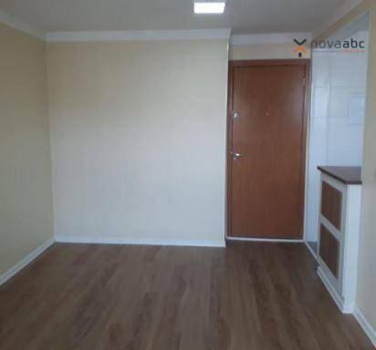 Apartamento com 2 dormitórios para alugar, 50 m² por R$ 1.000/mês - Utinga - Santo André/S - Foto 2