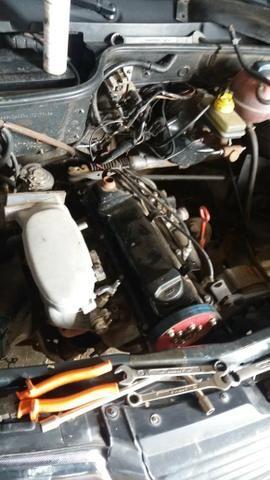 Motor AP 1.6 Mi completo (- câmbio)