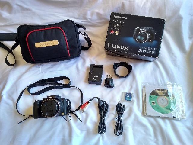 Câmera Panasonic Lumix FZ40
