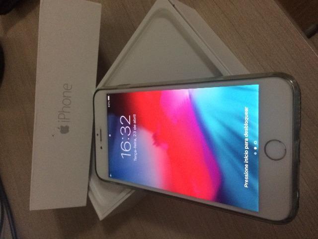 6f9f10d3e Apple Iphone 6 Plus Silver Desbloqueado com Caixa com Acessórios 16gb