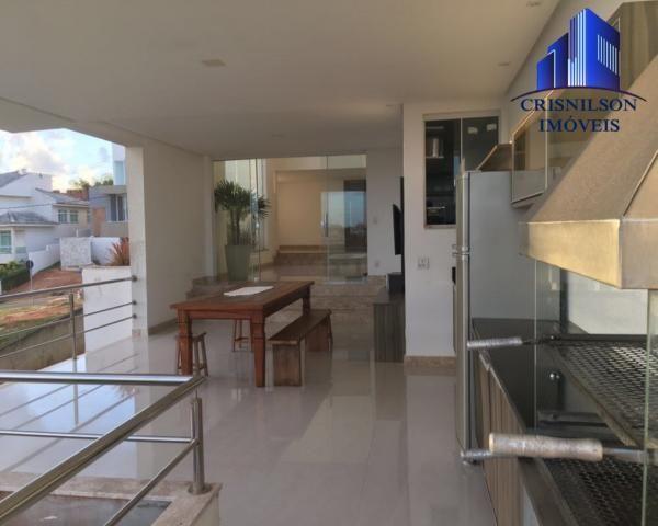 Casa à venda alphaville ii, salvador, r$ 1.650.000,00, armários, 4 suítes, espaço gourmet, - Foto 6