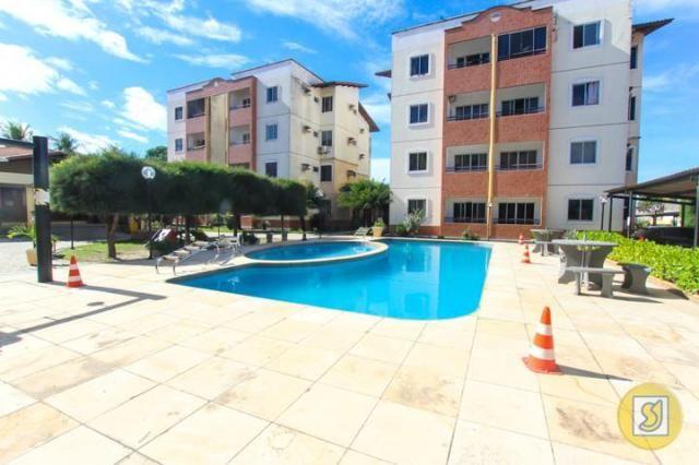 Apartamento para alugar com 2 dormitórios em Curio, Fortaleza cod:50078 - Foto 3