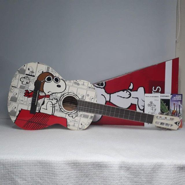 Violão Phoenix Clássico Peanuts Snoopy Aviador VSA-1 - Foto 2