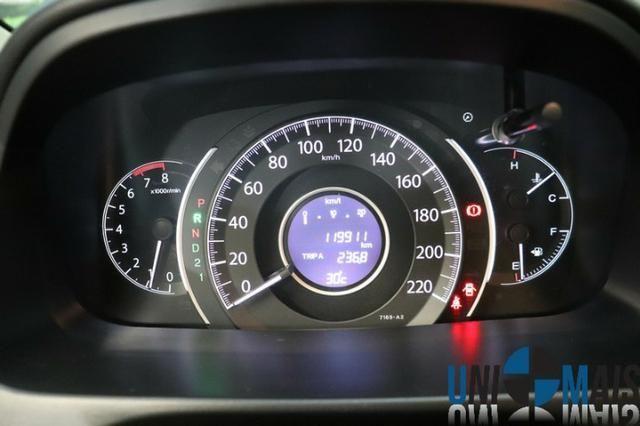 Honda Crv Exl 2014 Automatica Top Linha Flex Teto Solar Muito Nova Apenas 69.900 Lja - Foto 16