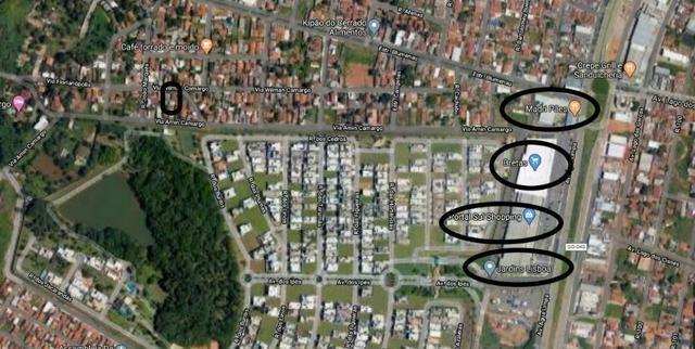 Lote a venda 304 m² no fundo do portal sul shopping no setor amim Camargo Goiânia - Foto 4