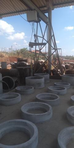 Manilhas de concreto todas medidas - Foto 2
