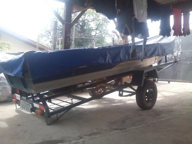 ;barco,motor,carreta - Foto 3