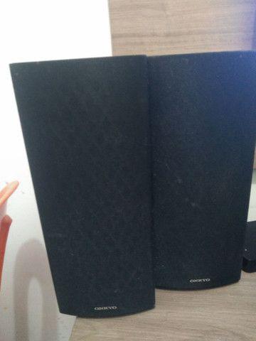 Vendo 6 caixinhas de som da onkyo - Foto 2