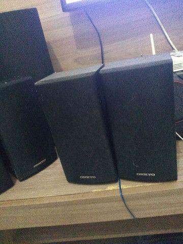 Vendo 6 caixinhas de som da onkyo - Foto 4