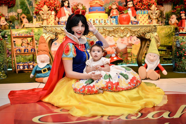 Branca de Neve- personagem vivo  - Foto 3