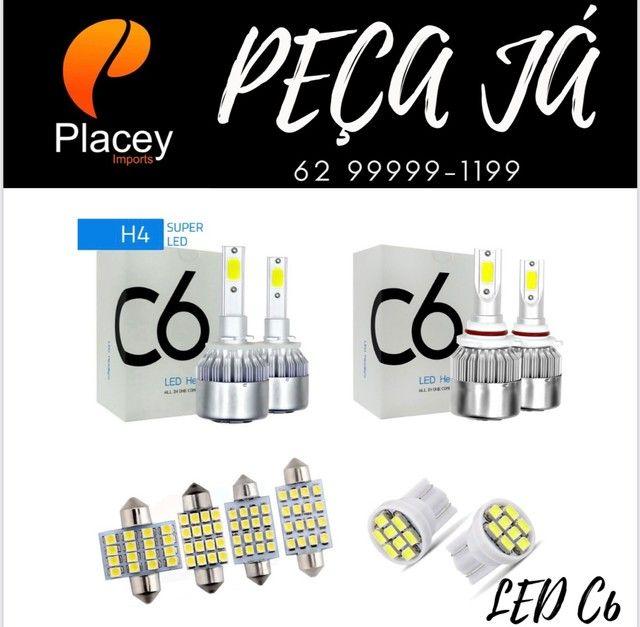Kit lâmpada Led C6 kit auto falante