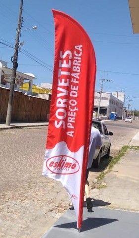 Bandeirola Personalizada p/ Sorveteria