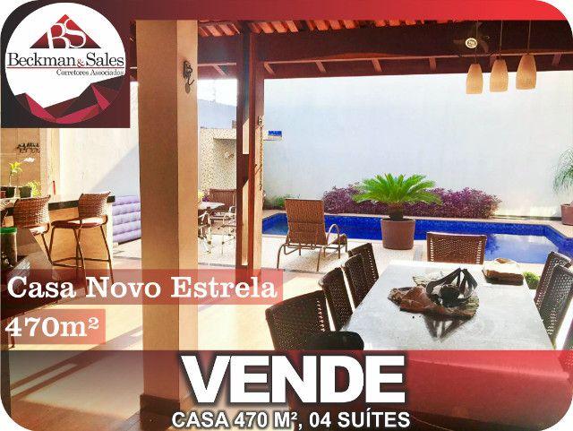 Belíssima Casa de 05 (Cinco) Suítes. - Foto 7