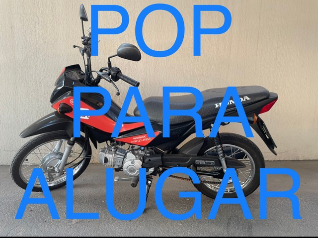 MOTO PARA ALUGAR Honda Pop 110i ano:2020 ALUGUEL LOCAR LOCADORA - Foto 3