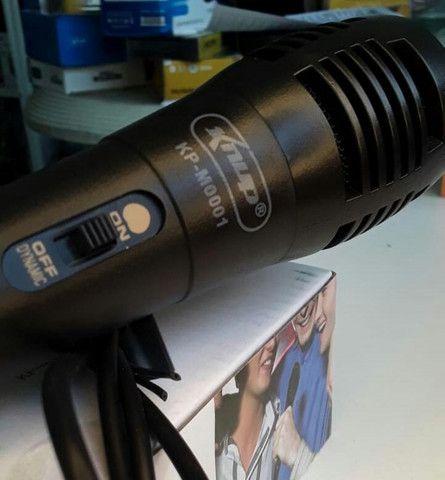 Microfone com Fio knup (entregamos) - Foto 2