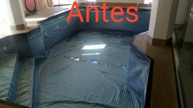 Troca de vinil por revestimento em fibra vidro