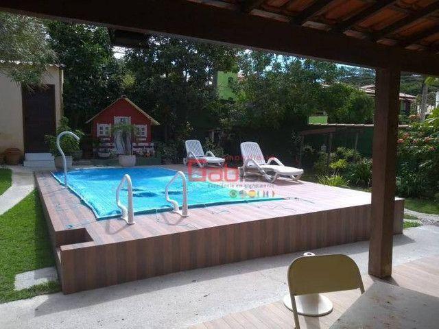 Casa com 4 dormitórios à venda, 505 m² por R$ 450.000,00 - Praia do Sudoeste - São Pedro d - Foto 5
