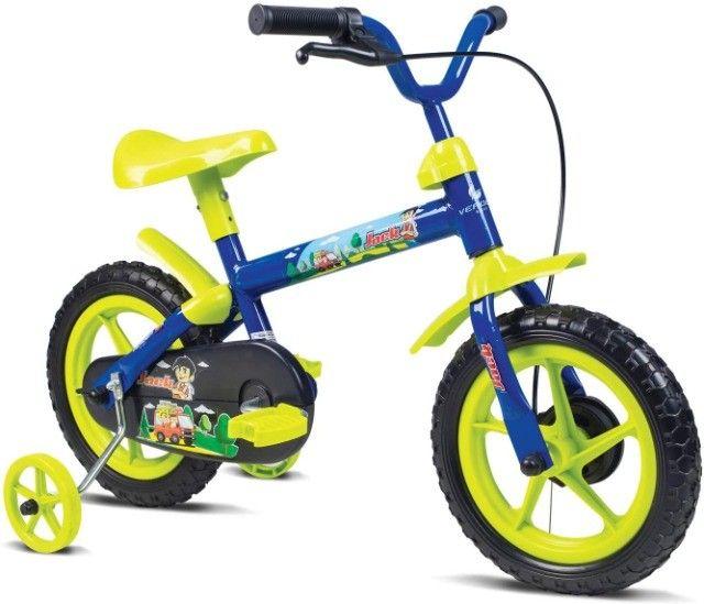 Dia das Crianças !! Bicicleta Infantil aro 12 Nova!!! 199 - Foto 6
