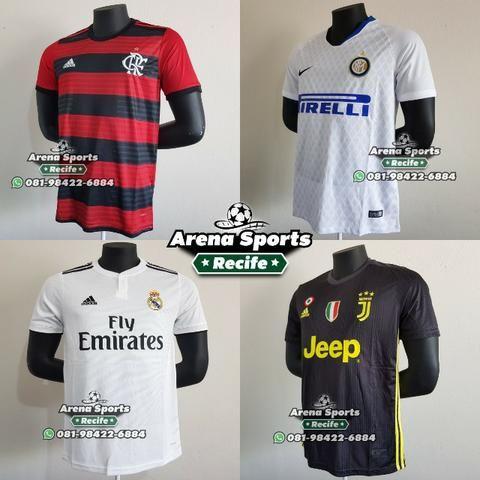 76d540ef8 Camisas Futebol - Seleções e Clubes - Grande variedade