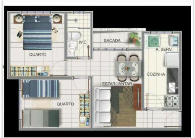 Apartamento Residencial Flamboyant 405N-Vendo
