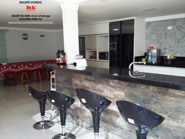 Excelente casa de alto padrão no Condomínio Moradas do Arvoredo em Ibiporã - Foto 13