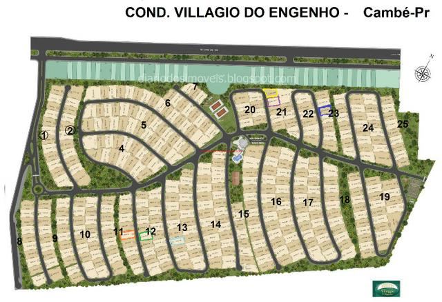 Condominio Villagio do Engenho lotes parcelados - Foto 3