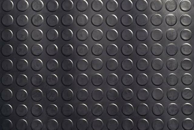 Piso moeda emborrachado, bobinas 1.30 largura padrão